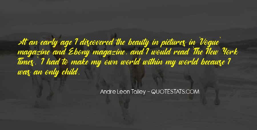 Quotes About Vogue Magazine #1140433