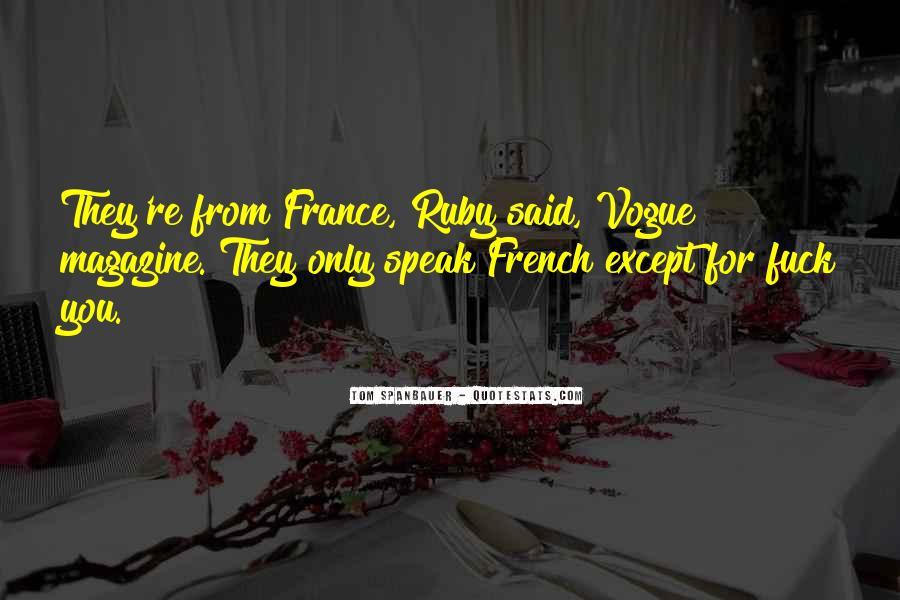 Quotes About Vogue Magazine #695879