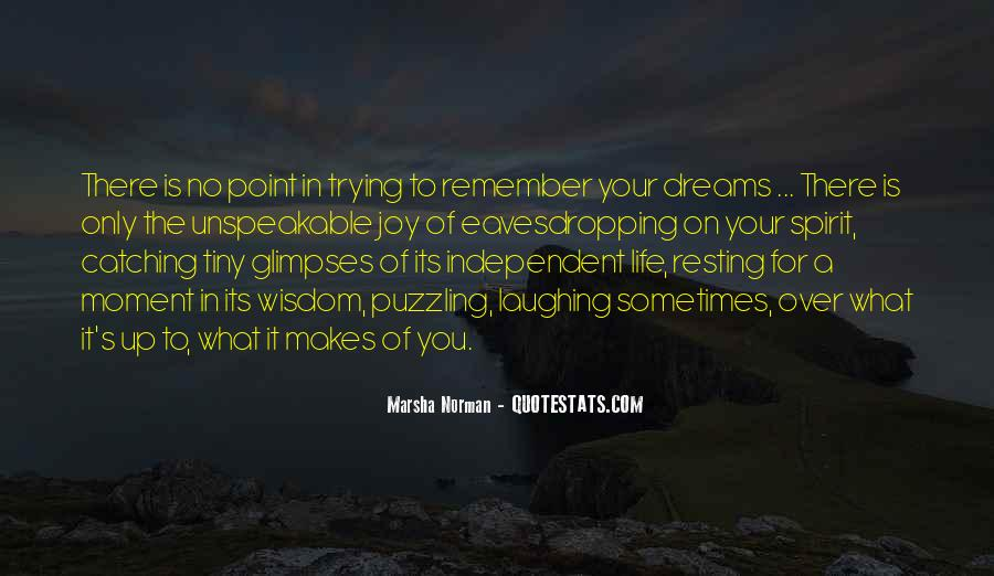 Quotes About Catching Your Dreams #1357139