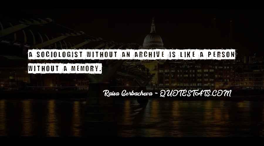 Quotes About Archives #1461018