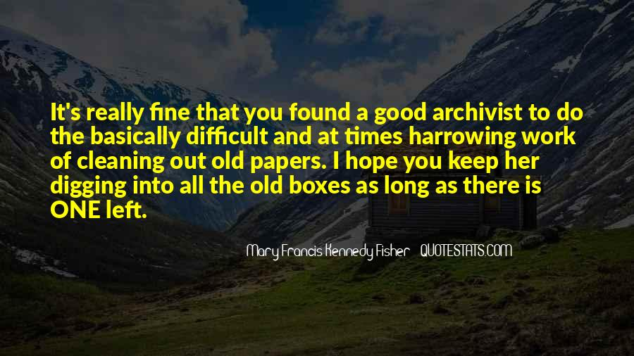 Quotes About Archives #39867