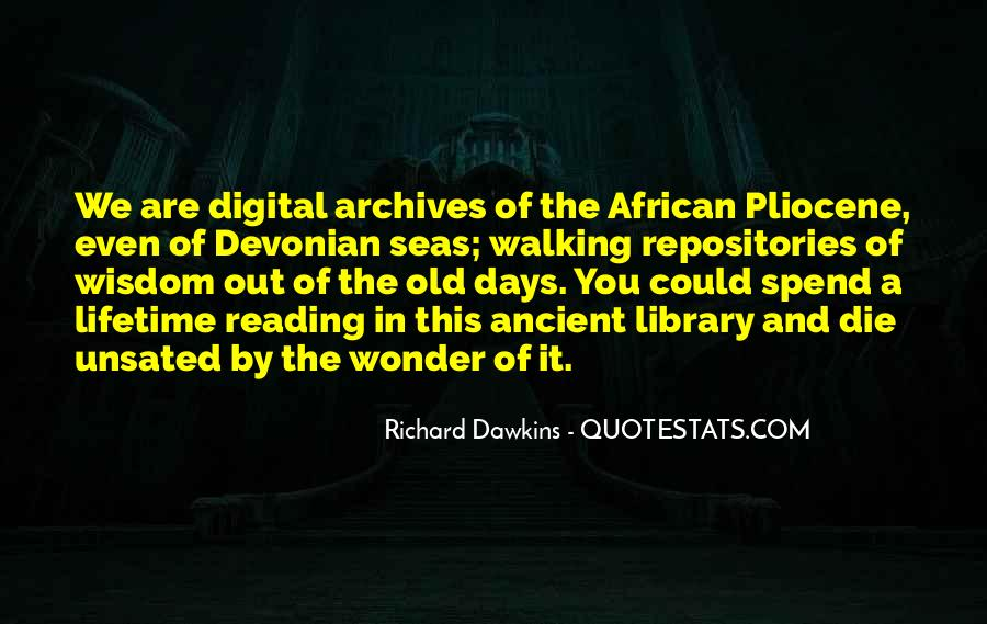 Quotes About Archives #811059