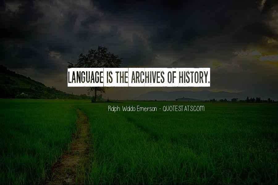 Quotes About Archives #873708