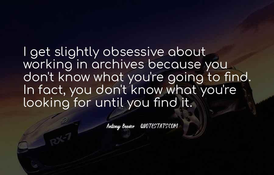 Quotes About Archives #962614