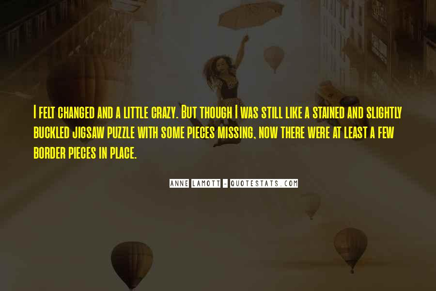 Quotes About Missing You Like Crazy #462807
