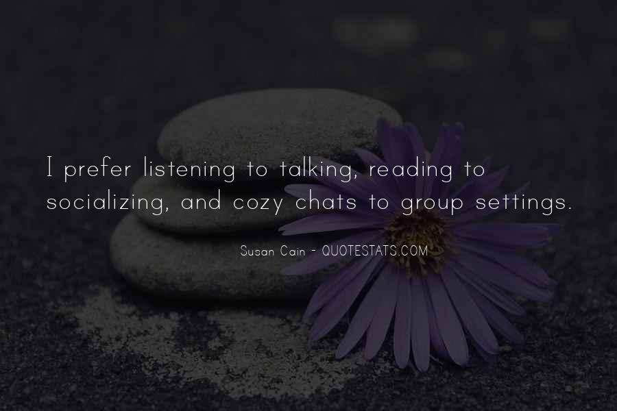 Quotes About Socializing #557018