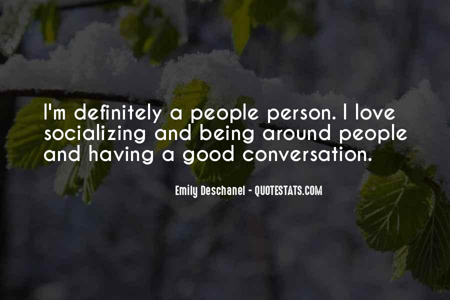 Quotes About Socializing #631984
