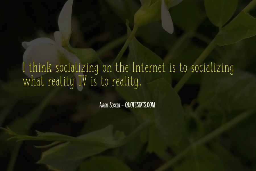 Quotes About Socializing #771775