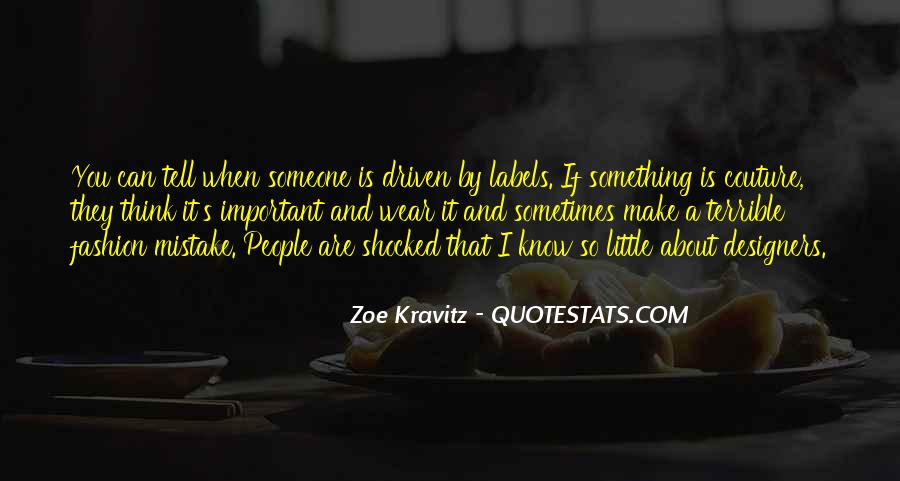 Quotes About Fashion Designers #1048764
