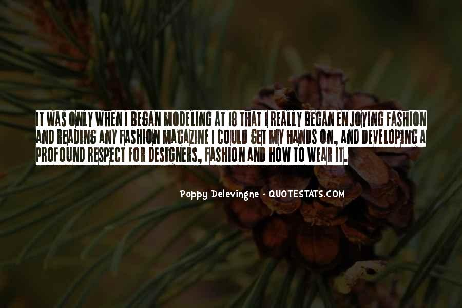 Quotes About Fashion Designers #1107045