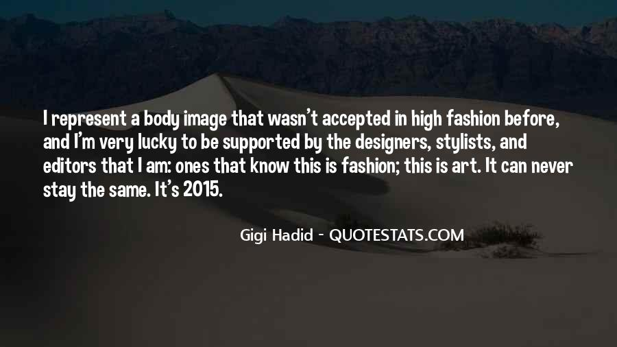 Quotes About Fashion Designers #1261115