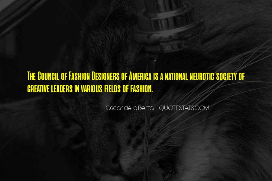 Quotes About Fashion Designers #1425728