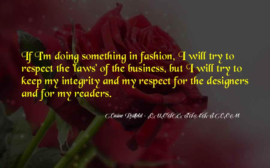 Quotes About Fashion Designers #1442092