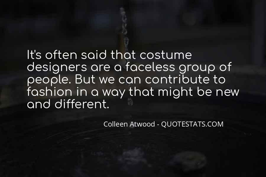 Quotes About Fashion Designers #1665027