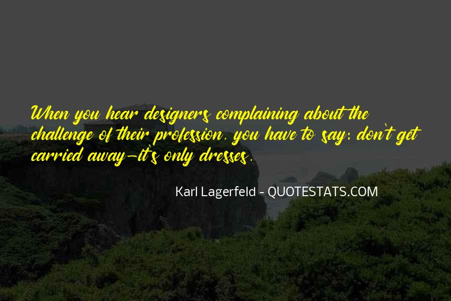 Quotes About Fashion Designers #1790062