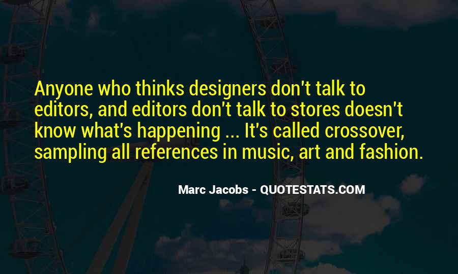 Quotes About Fashion Designers #190338