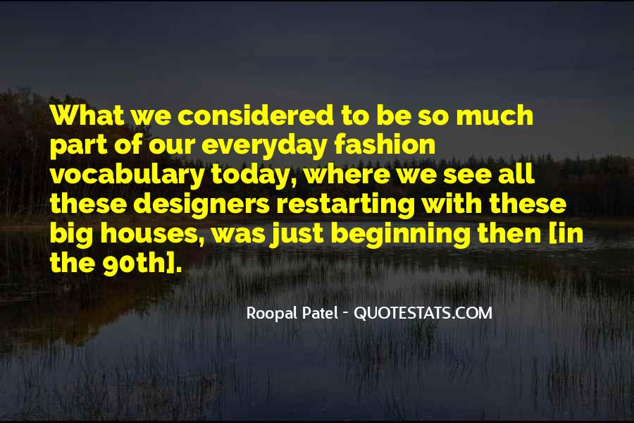 Quotes About Fashion Designers #343644