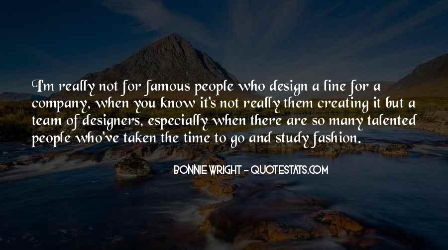Quotes About Fashion Designers #410807