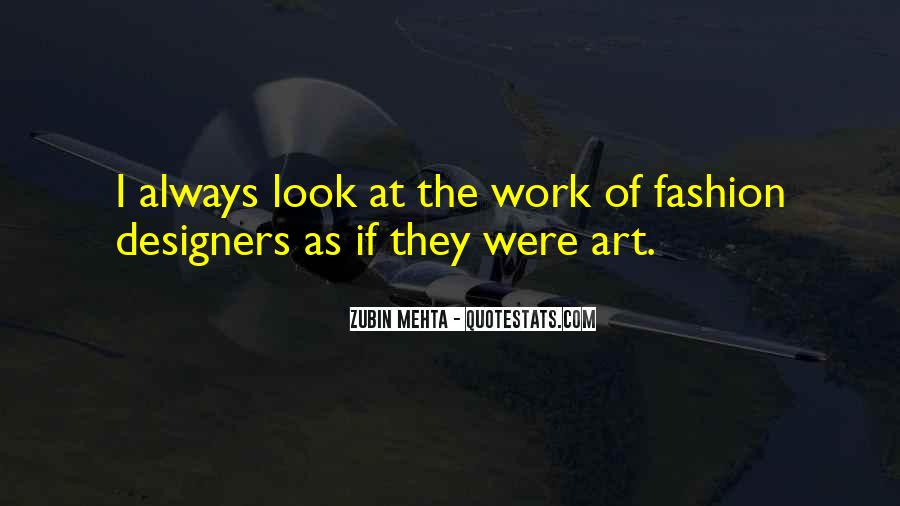 Quotes About Fashion Designers #729032