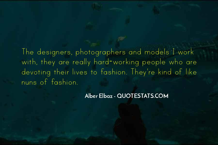 Quotes About Fashion Designers #743252