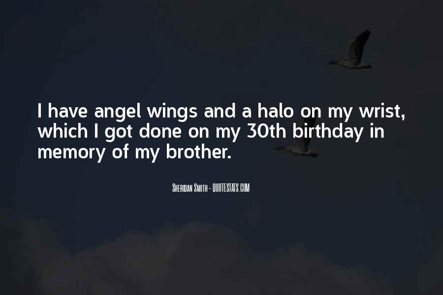 Quotes About Your Brother's Birthday #753332
