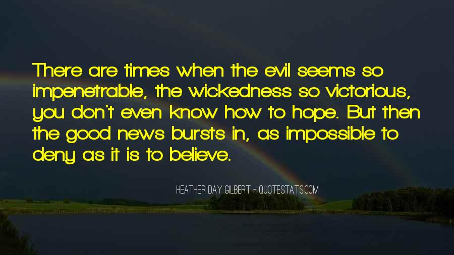 Quotes About Hope For A Good Day #1108754