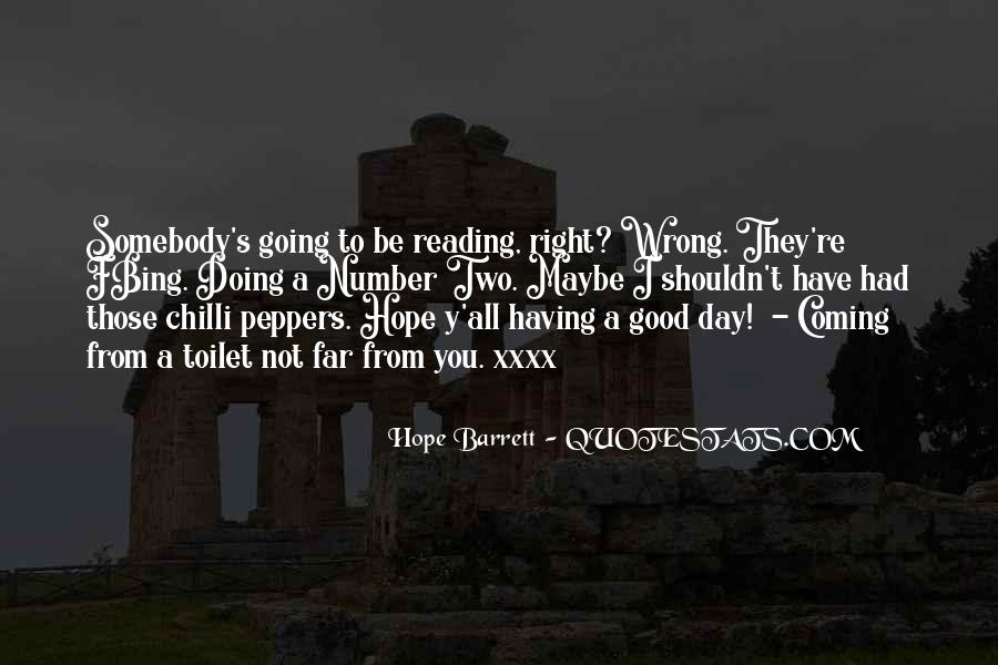 Quotes About Hope For A Good Day #93343
