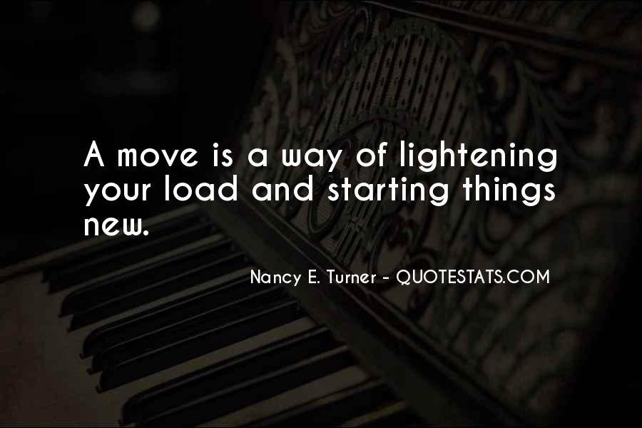 Quotes About Lightening Your Load #1660927