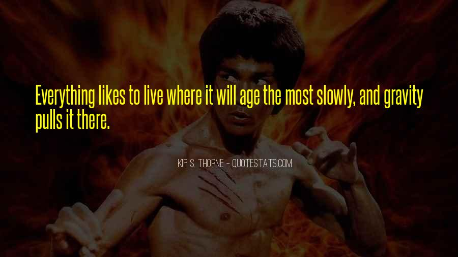 Quotes About Will To Live #18304