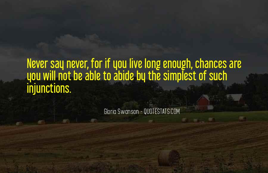 Quotes About Will To Live #2262