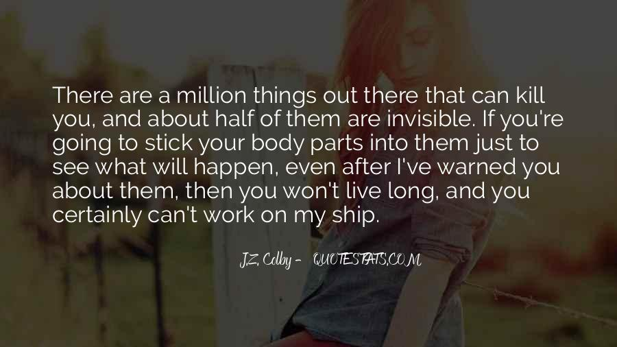 Quotes About Will To Live #50709