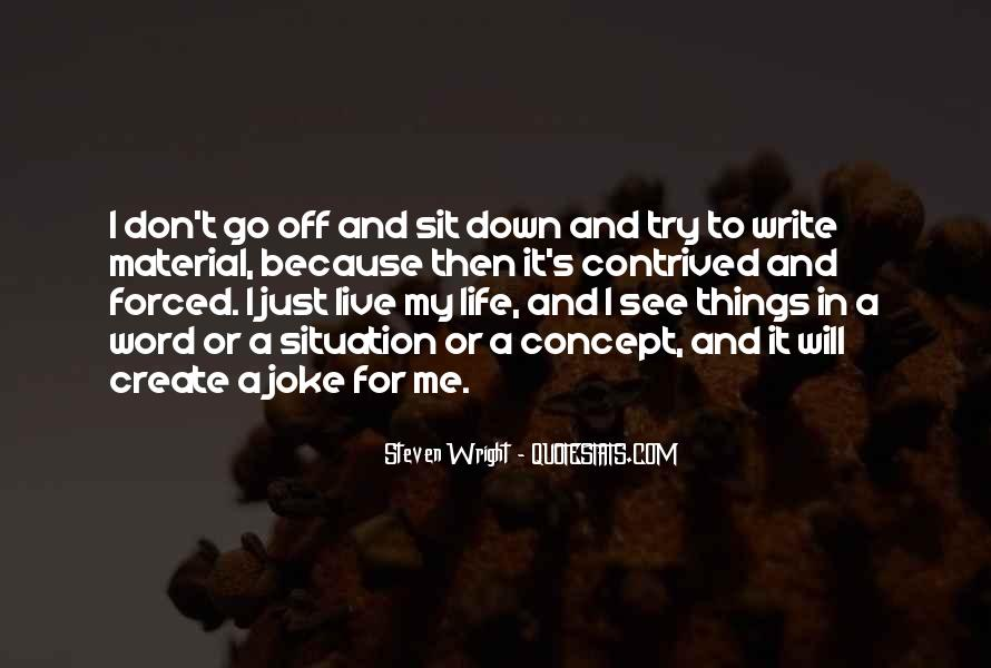 Quotes About Will To Live #57071