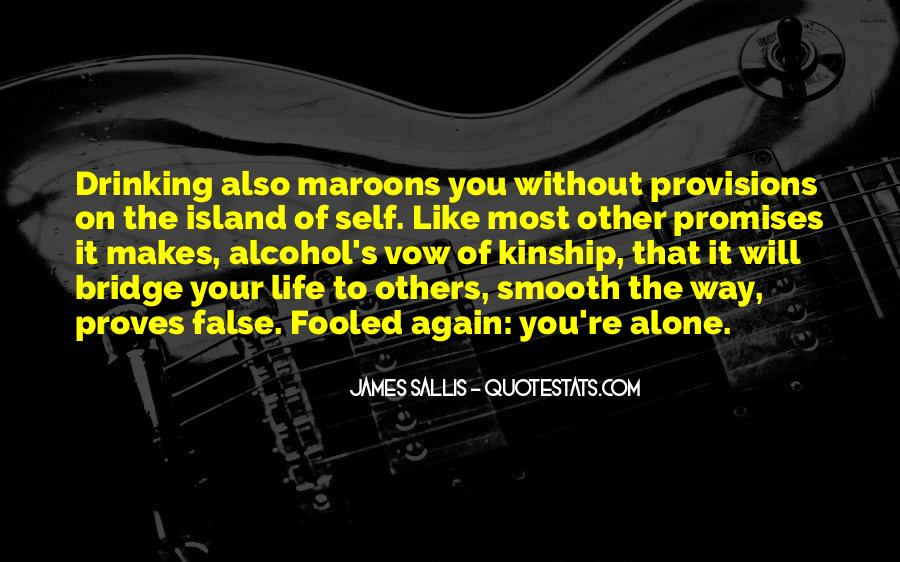 Quotes About Maroons #1425932