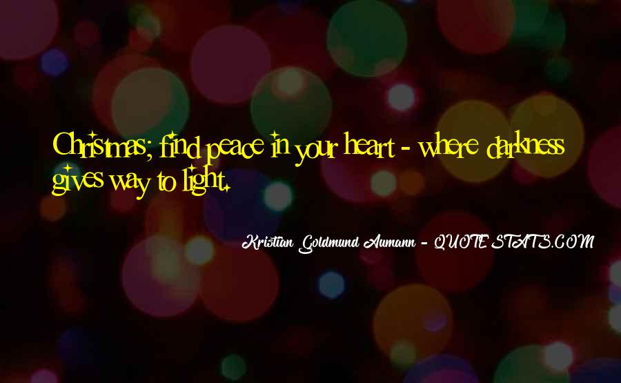 Quotes About Christmas In Your Heart #1285137