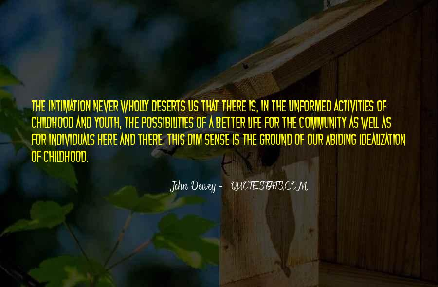 Quotes About Youth Activities #414779