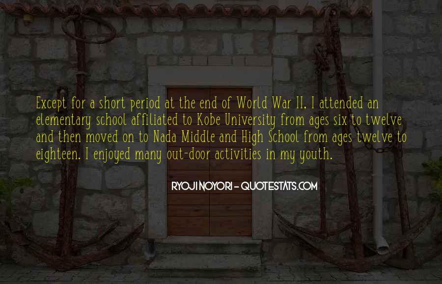 Quotes About Youth Activities #427949
