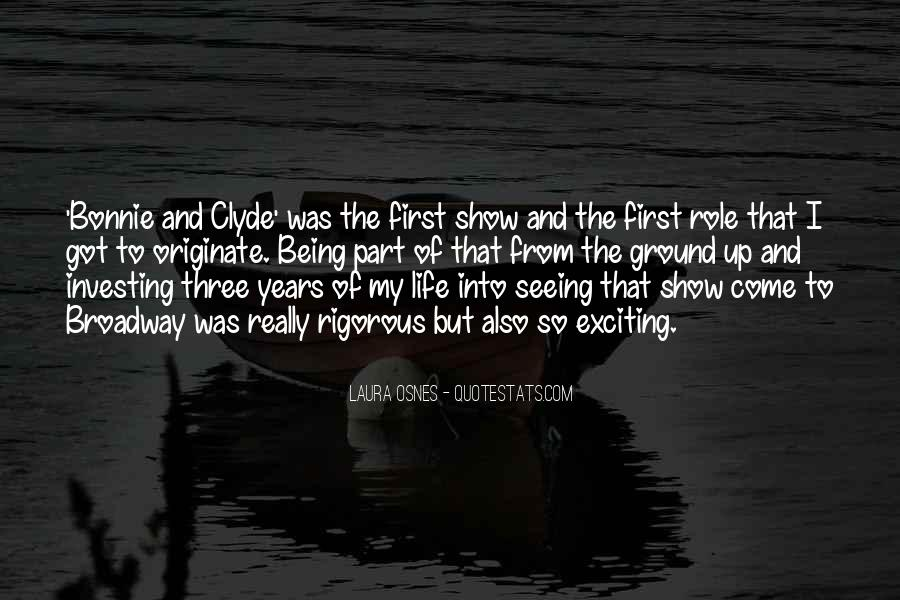 Quotes About Bonnie & Clyde #1352163