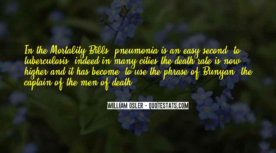 Quotes About Pneumonia #1346307