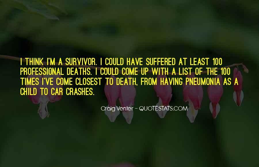 Quotes About Pneumonia #1355709