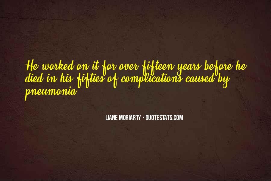 Quotes About Pneumonia #1413689