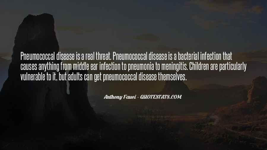 Quotes About Pneumonia #1444322
