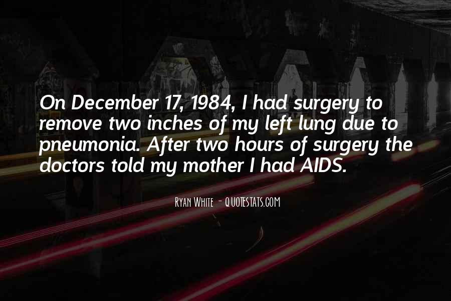 Quotes About Pneumonia #1526100
