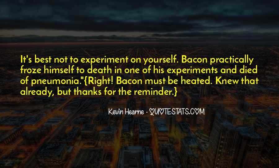 Quotes About Pneumonia #152707