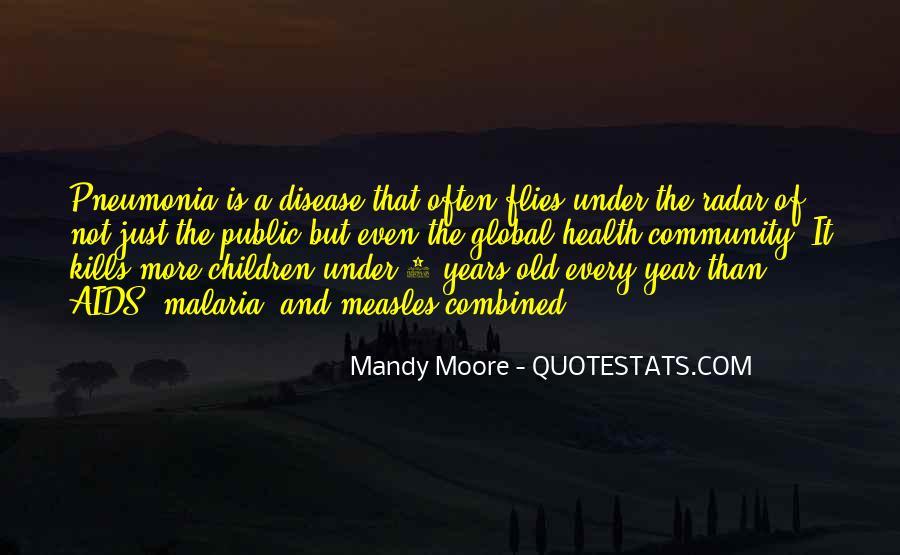 Quotes About Pneumonia #1551047