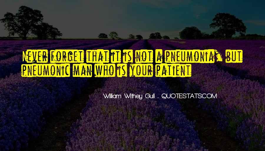 Quotes About Pneumonia #1666123