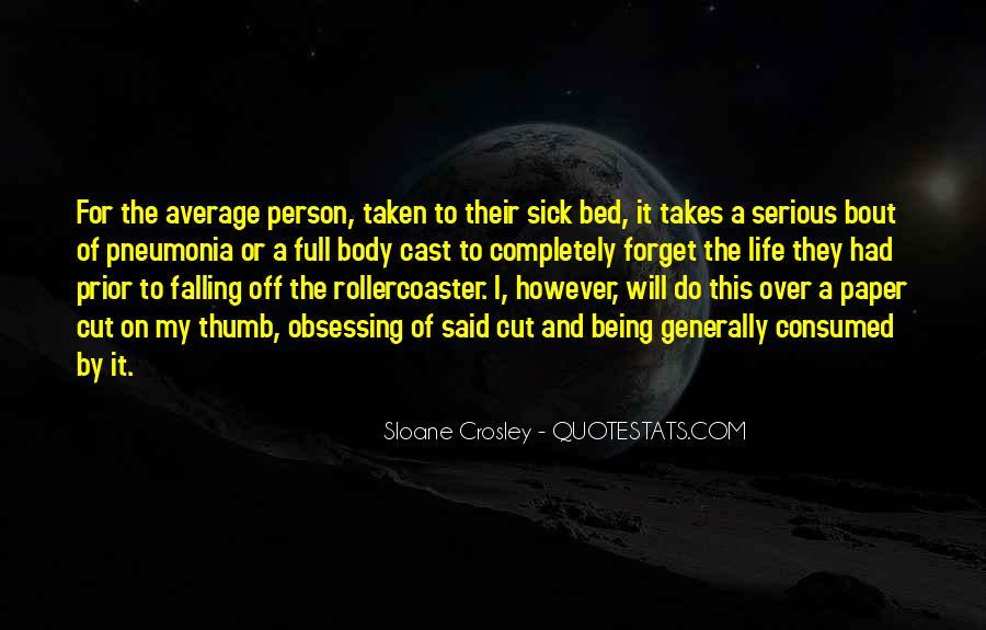 Quotes About Pneumonia #1734053