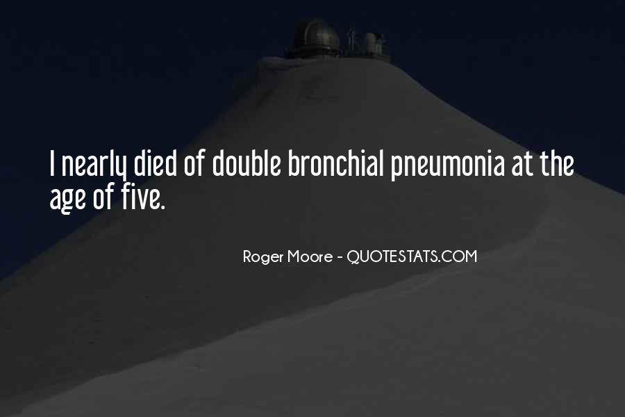 Quotes About Pneumonia #1802014