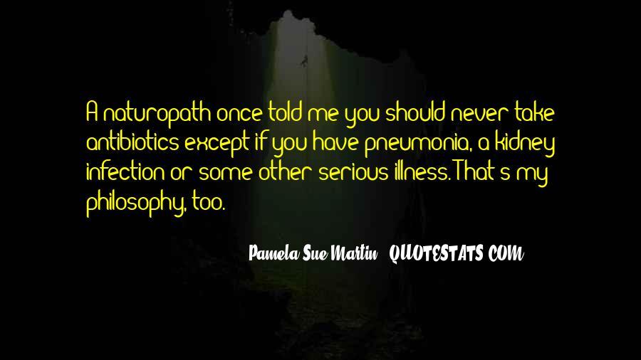 Quotes About Pneumonia #241335