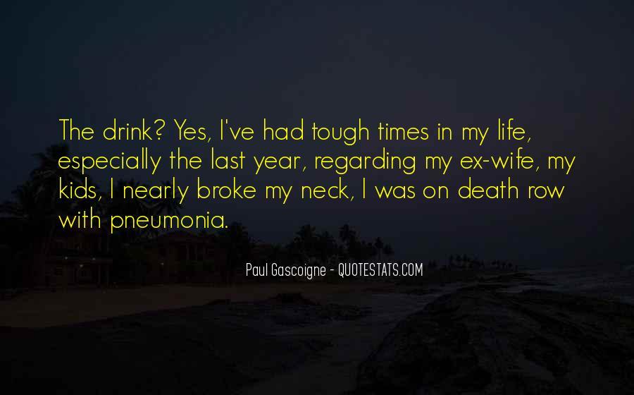 Quotes About Pneumonia #244975
