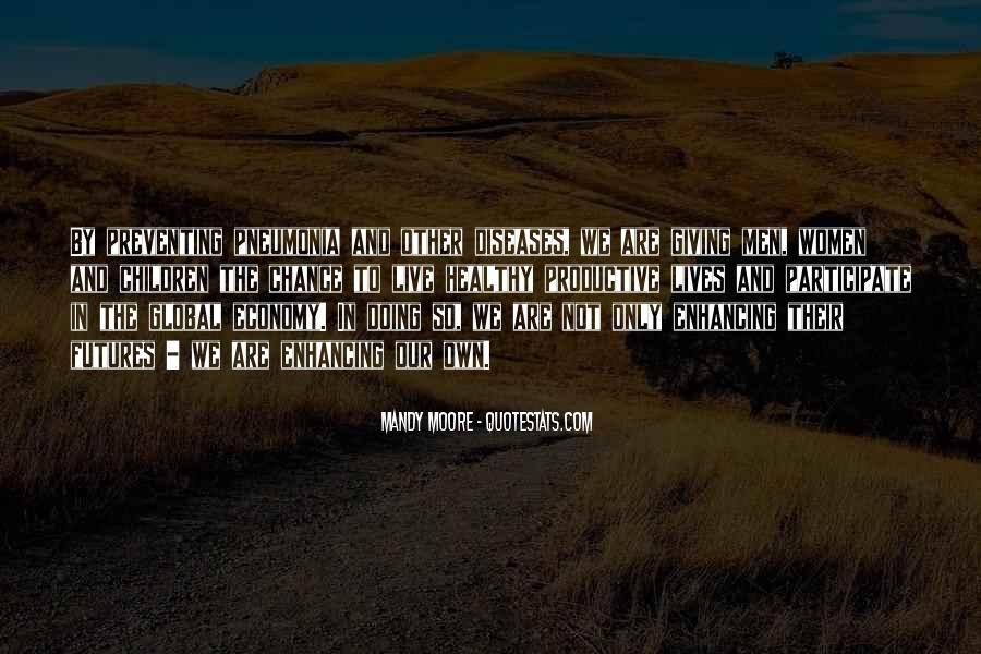 Quotes About Pneumonia #548638